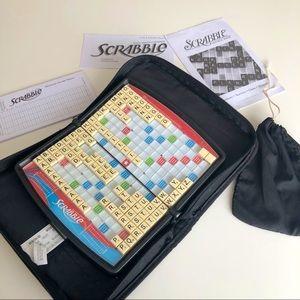 SCRABBLE Travel Edition Board Game Folio Case Mini
